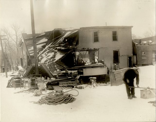 Halifax, N.S.: Damage caused by the explosion.
