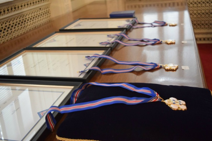 The medals to be awarded