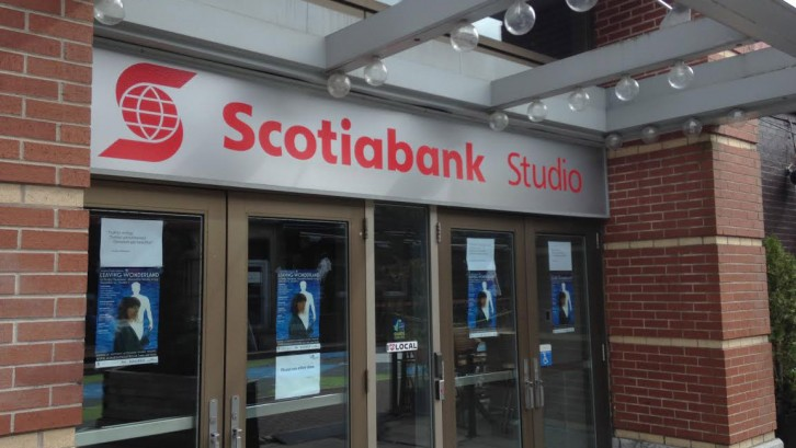 Pre-professional students would often perform in the Scotiabank Studio