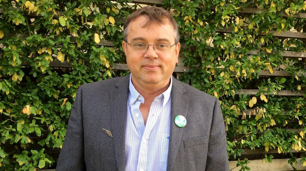 """Trappenberg doesn't think voting Green is """"a wasted vote."""""""