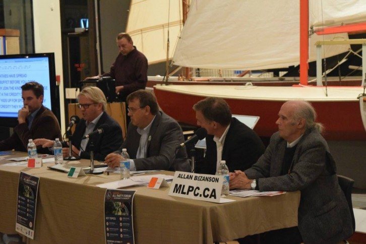 Candidates share their views at the Maritime Museum of the Atlantic
