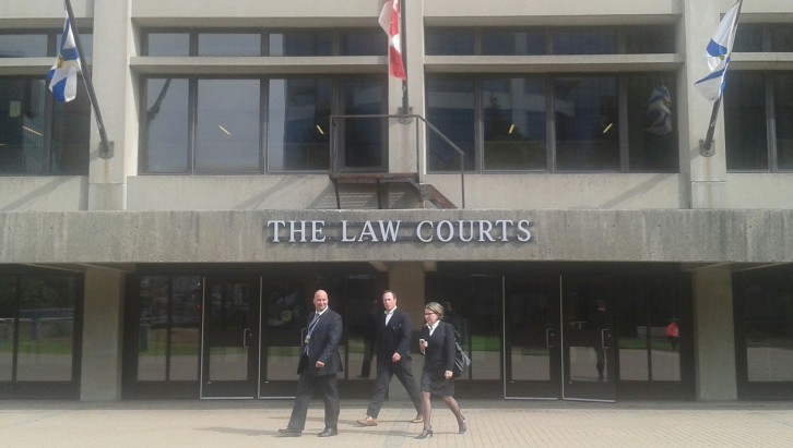 The Law Courts, Upper Water St. Halifax