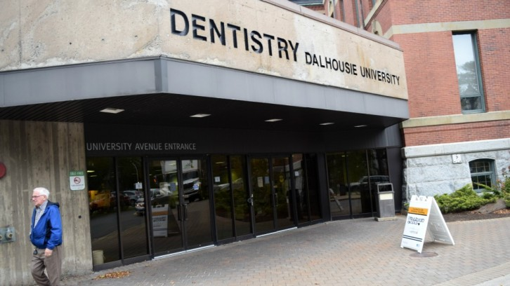 Dalhousie's dentistry school, located at University Avenue and Robie Street.