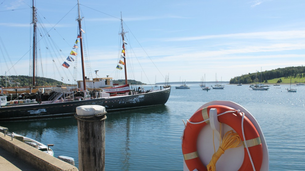 Lunenburg, NS waterfront