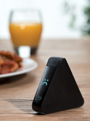 The Nima sensor frowns when it detects gluten