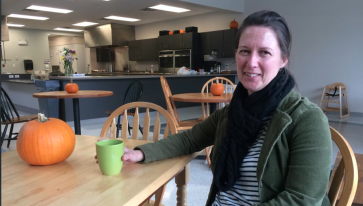 Deborah Dickey says the centre does three meals a week, while on the alternating days they do community kitchens, where people come into the community and use the kitchen to cook