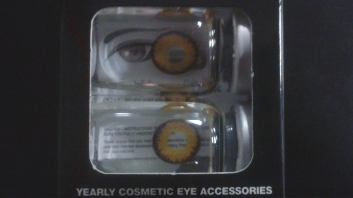 Cosmetic contacts for sale at Spirit Halloween