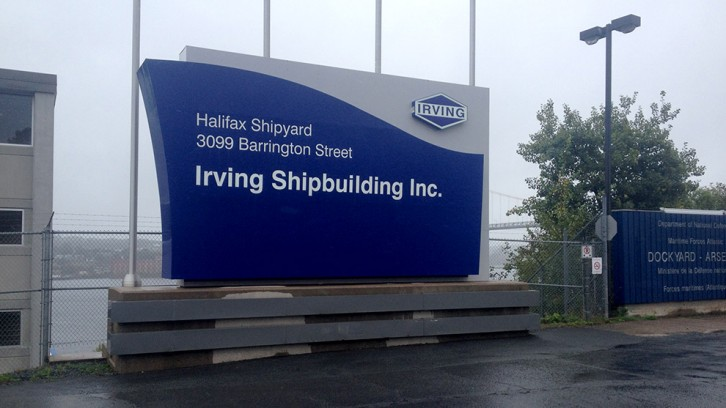 Halifax Irving Shipyard