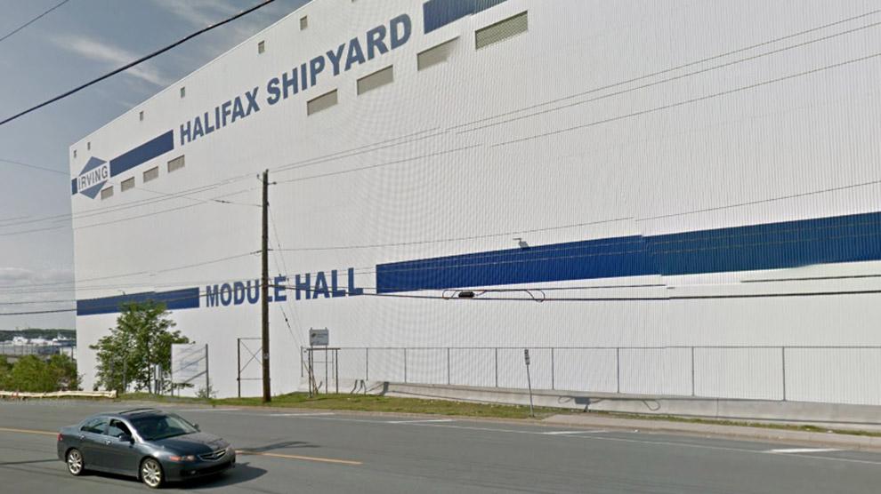 Halifax Irving Shipyard