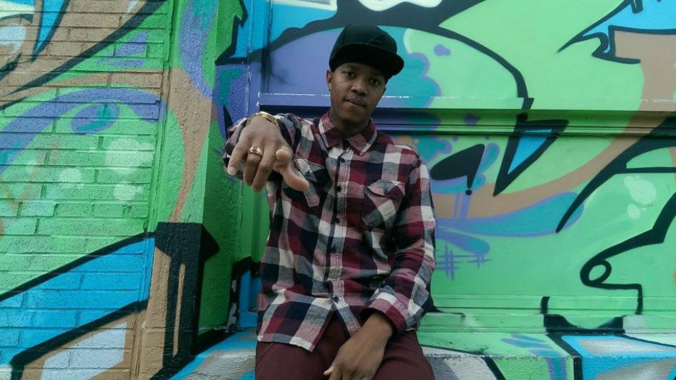 Rapper Thrillah started rapping at the age of 10 and began taking it seriously in high school.
