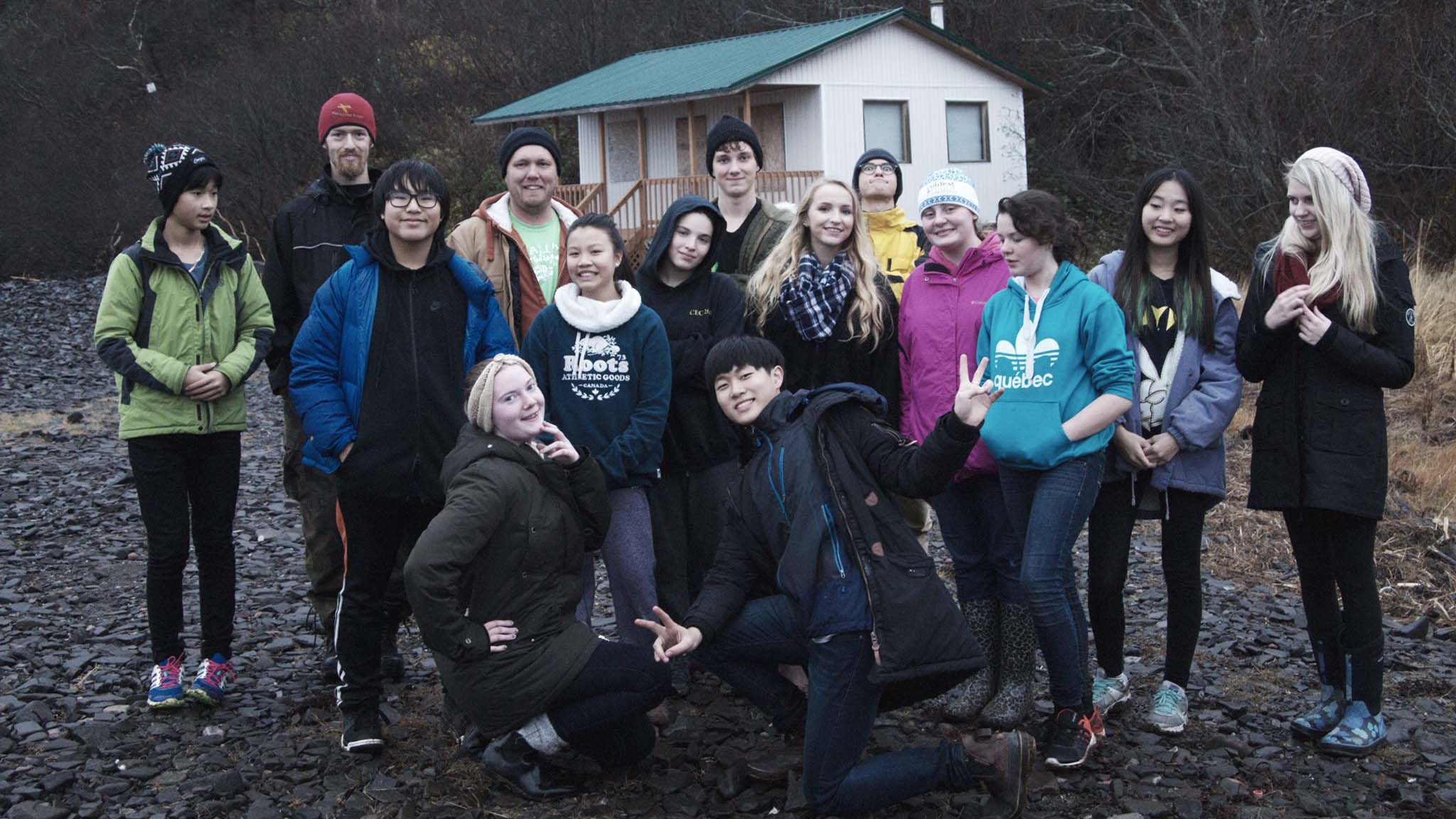 Youth from Truro Alliance Church raised money for refugee sponsorship by spending a weekend without internet, electricity, and running water