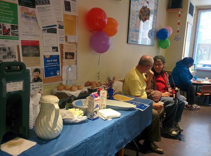 Birthday bash at the NECHC