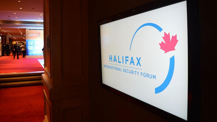 The Halifax International Security Forum was held from Nov. 19 - Nov. 22