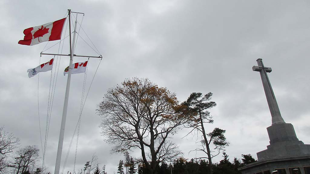 On Remembrance Day, Navy veterans were remembered and honoured at Point Pleasant Park