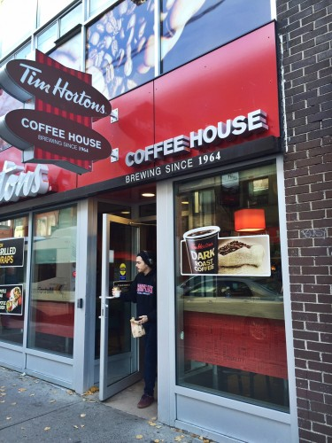 Tim Hortons on Spring Garden Road, Halifax