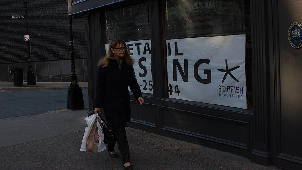 Store for lease on Barrington Street Halifax