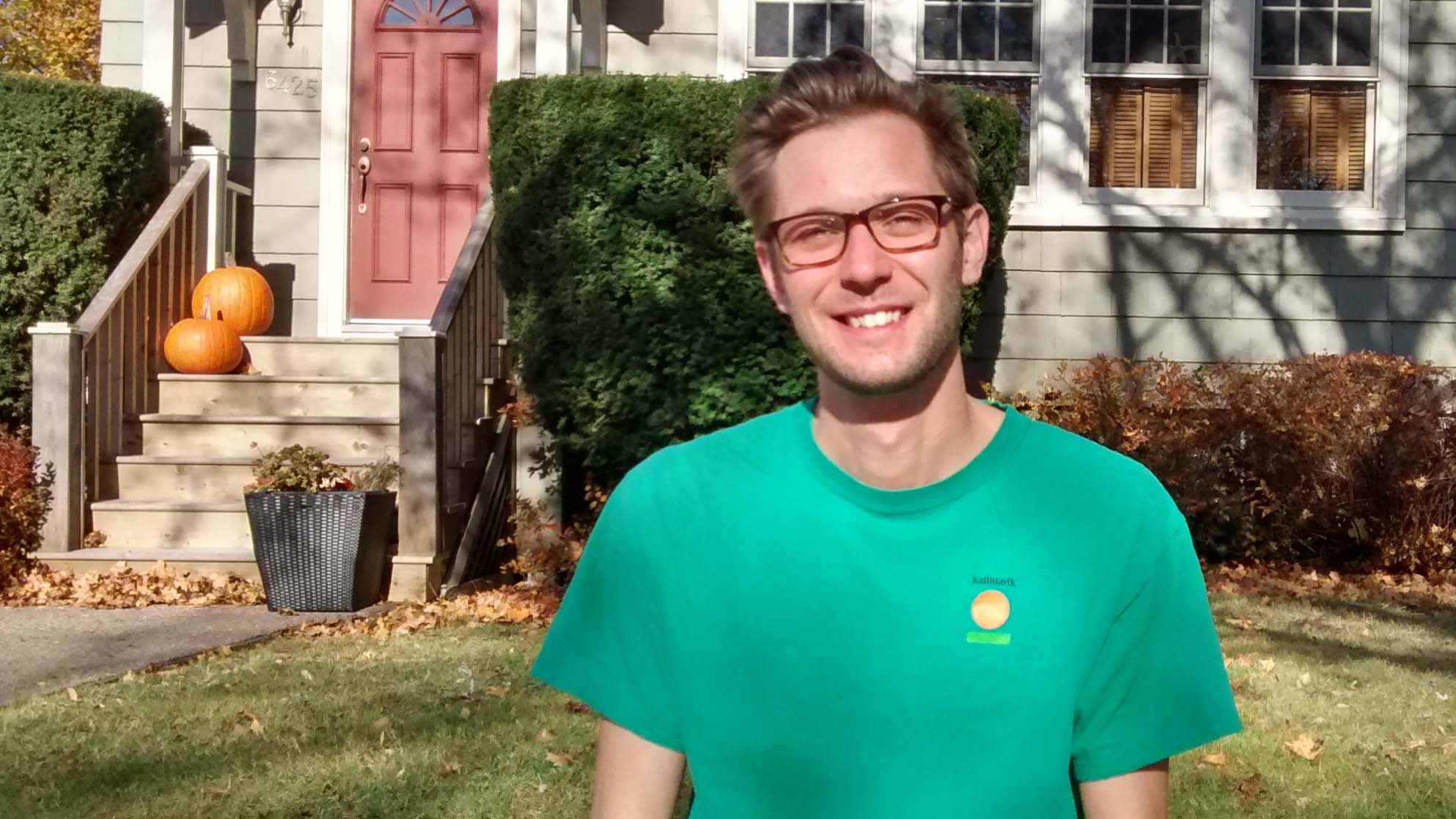 Mat Barkley participated in Katimavik in 2010. He's feeling optimistic about the potential for increased federal funding.