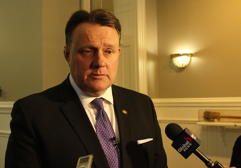 Halifax Mayor Mike Savage (pictured) will continue to work with Premier Stephen McNeil in reducing Nova Scotia's red tape.