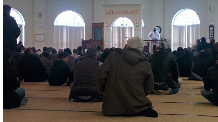 The sermon at the Ummah Mosque and Community Centre discussed Islamophobia