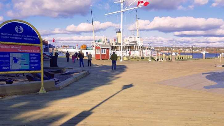The last stragglers are reluctant to leave the Halifax waterfront, but most of the buskers have packed up for the year.