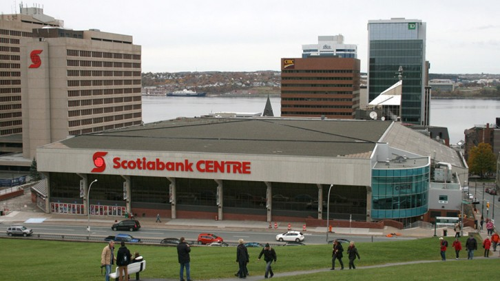 The Scotiabank Centre in downtown Halifax is Atlantic Canada's largest indoor venue, holding up to 13,000 people when used for concerts.