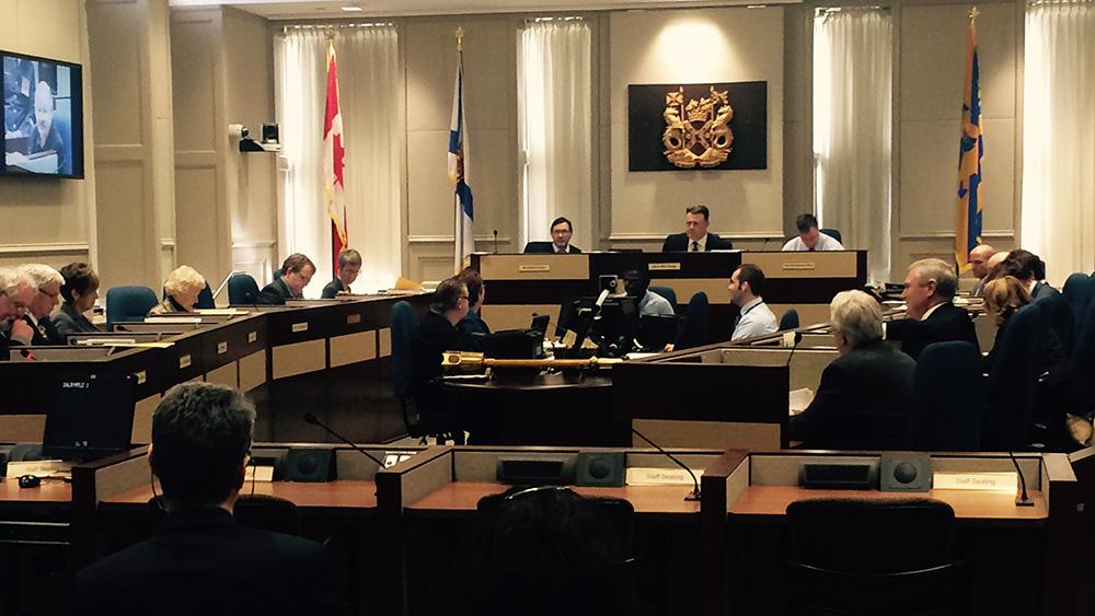 Halifax Regional Council meeting, NS