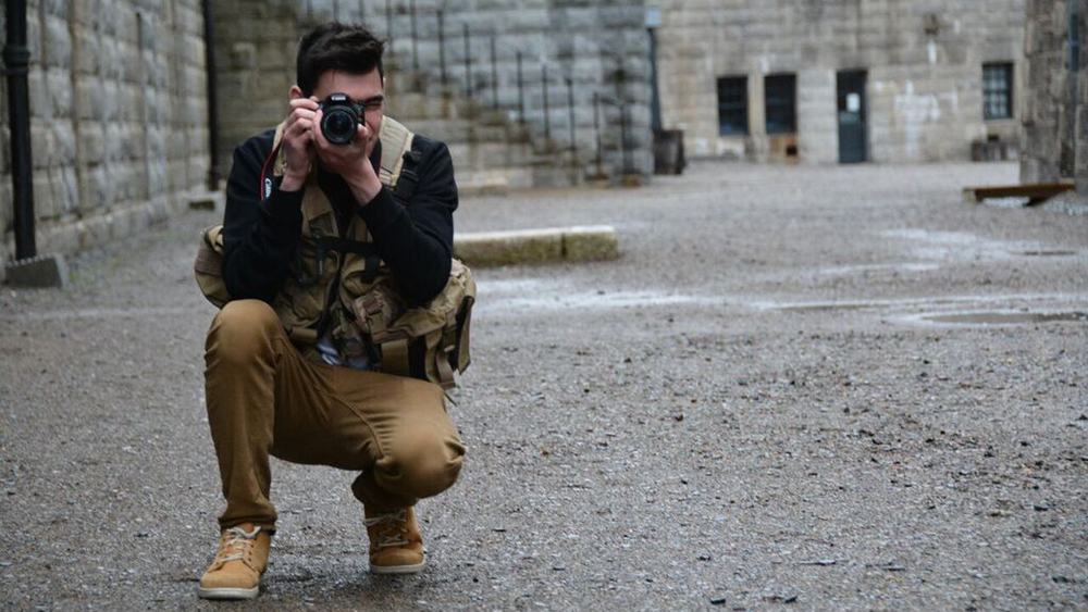 Some organizations like RISC, offer freelancers the training and equipment they need for work overseas such as the flak jacket pictured in this staged photo.