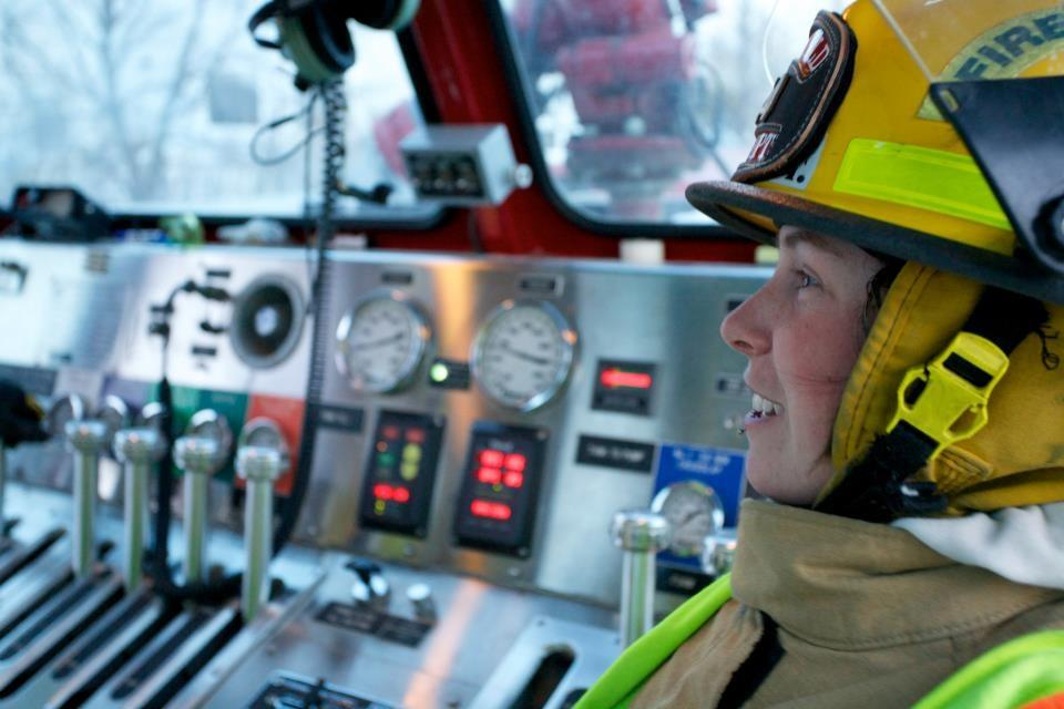 Women make up only 7 per cent of IAFF 268, the Halifax firefighter union.