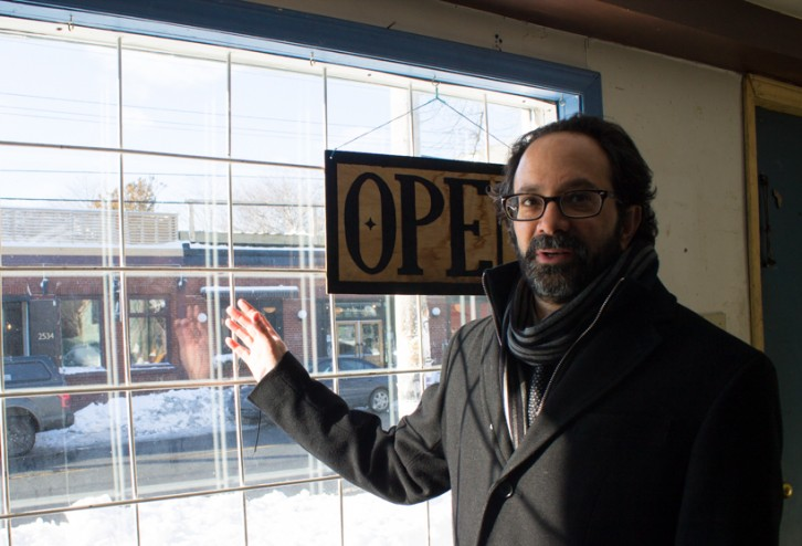 Joshua Judah lives close to the new distillery location, and he is glad he can drop by anytime.