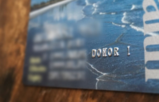 Donor 1 status on your Nova Scotia Health Card indicates you are a registered organ donor.