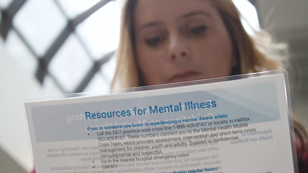 Lyne Brun reviews a newsroom resource prepared for media by the Mental Health Foundation of Nova Scotia.