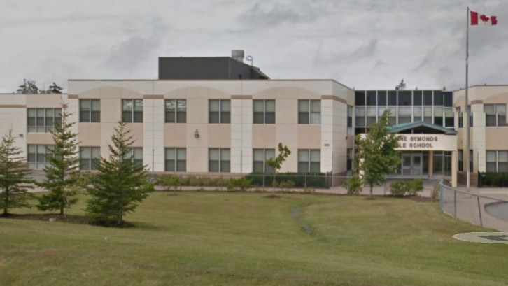 Madeline Symonds Middle School, one of the P3 schools in consideration. Taken from Google Maps.