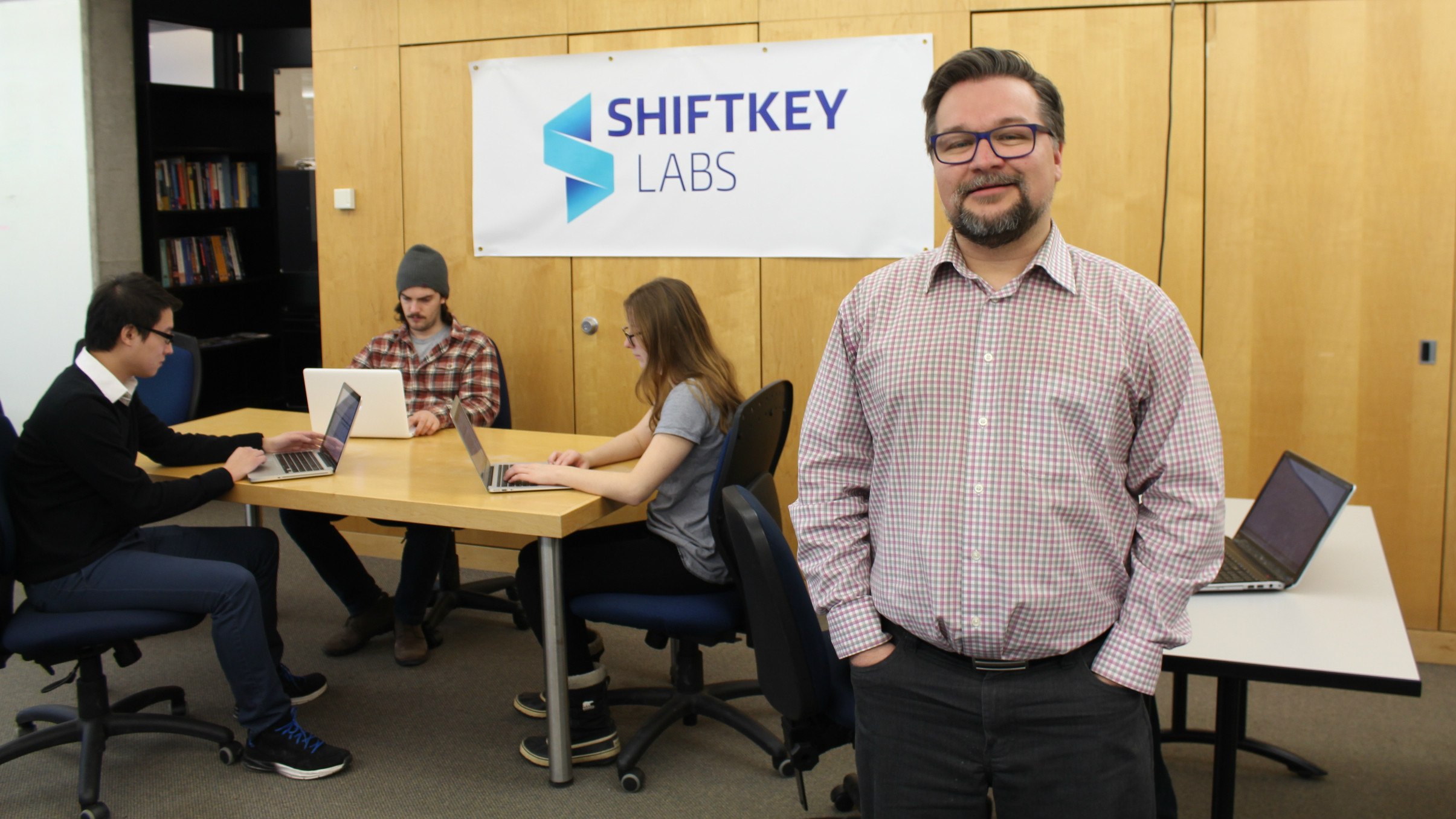 Grant Wells, project manager of Shiftkey Labs at Dalhousie University.