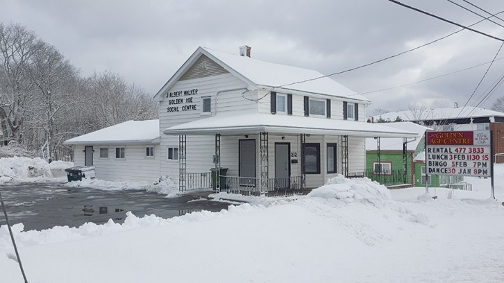 The J.A. Walker Golden Age Social Centre is located on the Herring Cove Road.