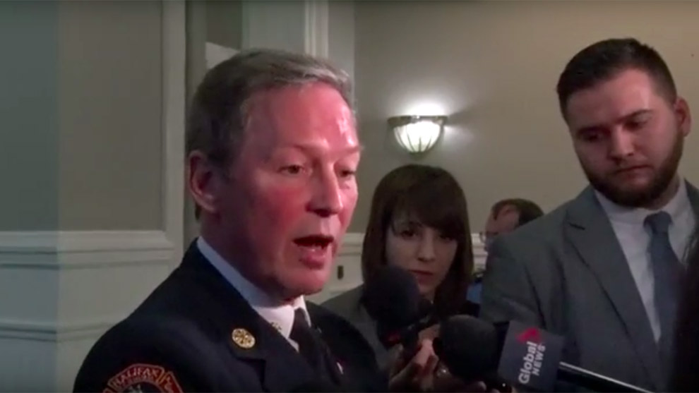 Halifax regional fire chief Doug Trussler discusses fire station staffing changes