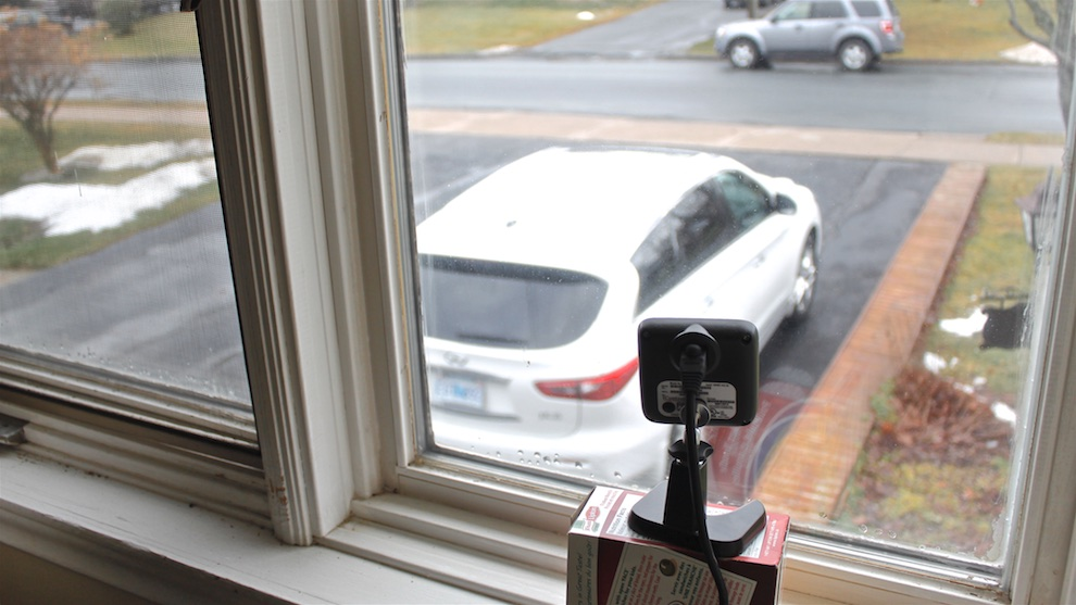 Barbara Gavin hopes to catch criminals in the act with her continuously recording security camera.