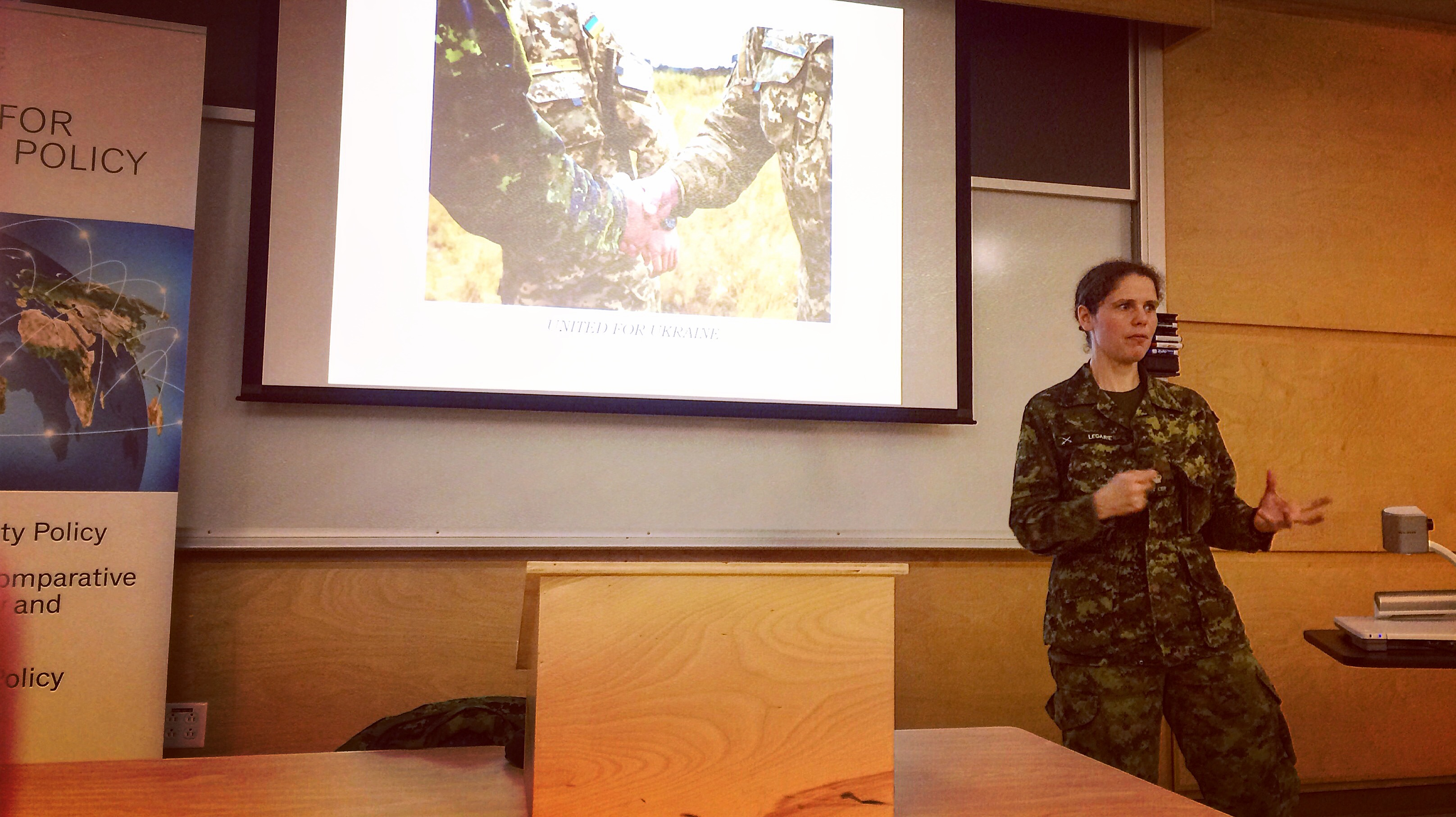 Major Cindy Legarie talks about Operation UNIFIER