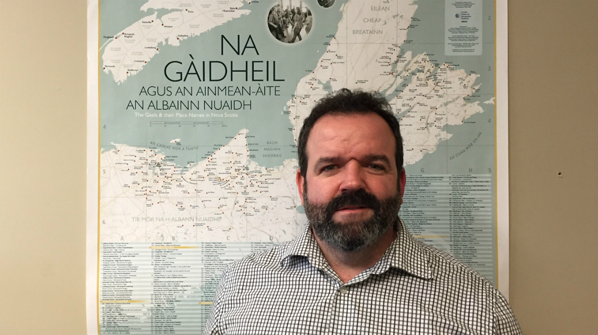 Lewis MacKinnon,  executive director of Gaelic Affairs.