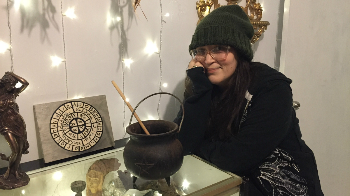 Pamela McInnis, organized the Love Magick workshop at her shop Neighbourhood Witches General Store