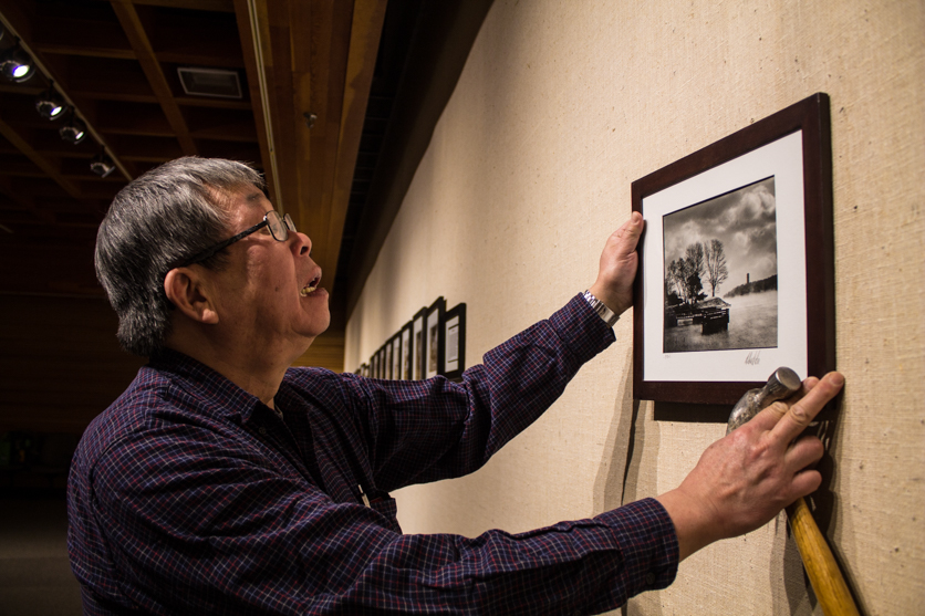 Albert Lee learned how to develop and print photos at the Nova Scotia Museum.