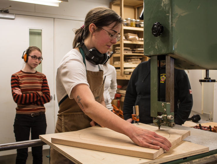 Woodworking Course Creates Environment Women Can Identify