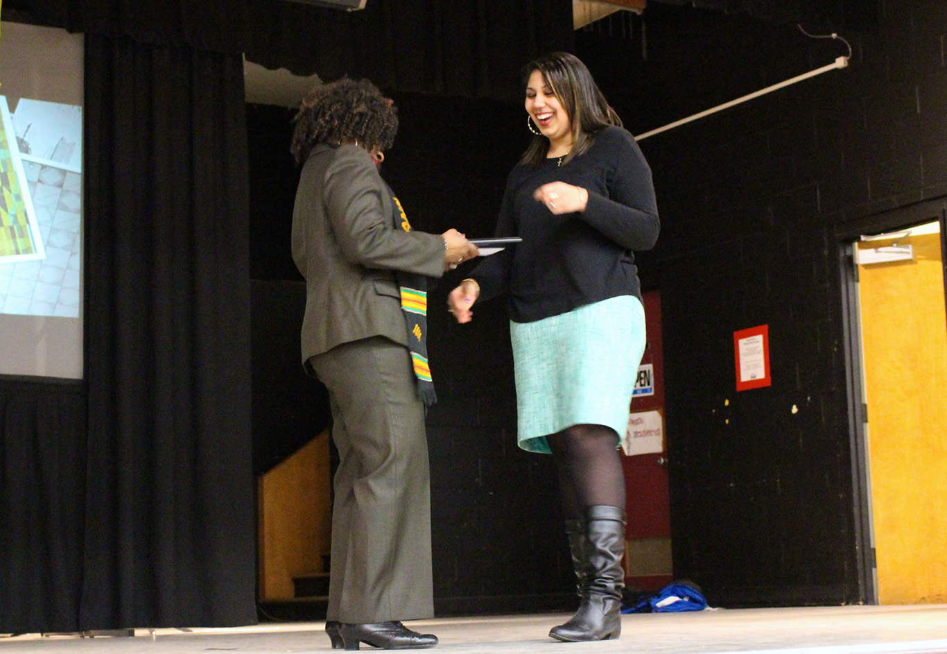 """Allysa Flint says it's, """"definitely important for people of African Nova Scotian descent to get recognition."""""""