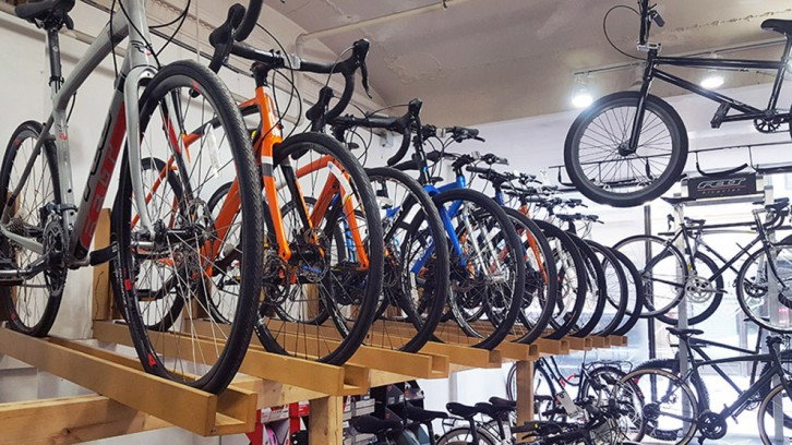 Make sure you test out a new bike before you buy so you get the right size.