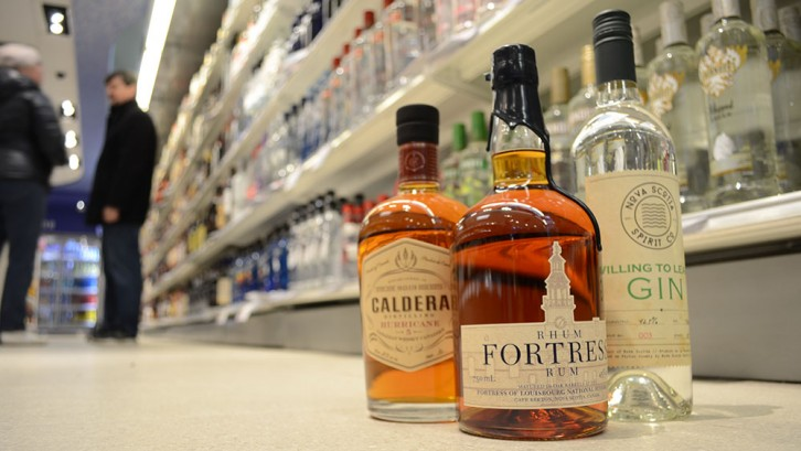 The NSLC has seen a big increase in sales of local spirits.
