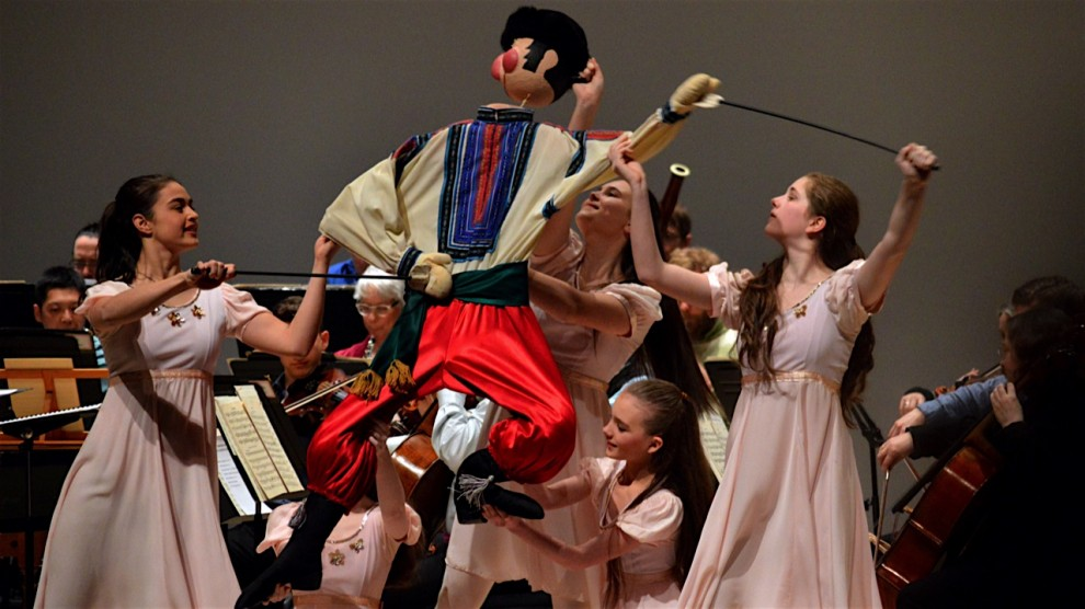 Dancers from Halifax Dance perform an excerpt of The Nutcracker.