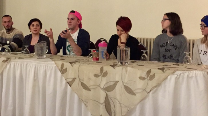 PROsocial held a panel on mental health and identity at Dalhousie on Wednesday, March 2.