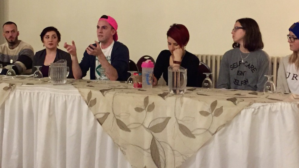 PROsocial held a panel on mental health and identity at Dalhousie on Wednesday.