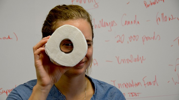 Hana Nelson is the co-founder of Aerosan Toilets.