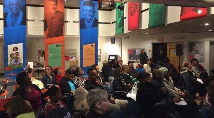 People who attended the event at the Black Cultural Centre of Nova Scotia.