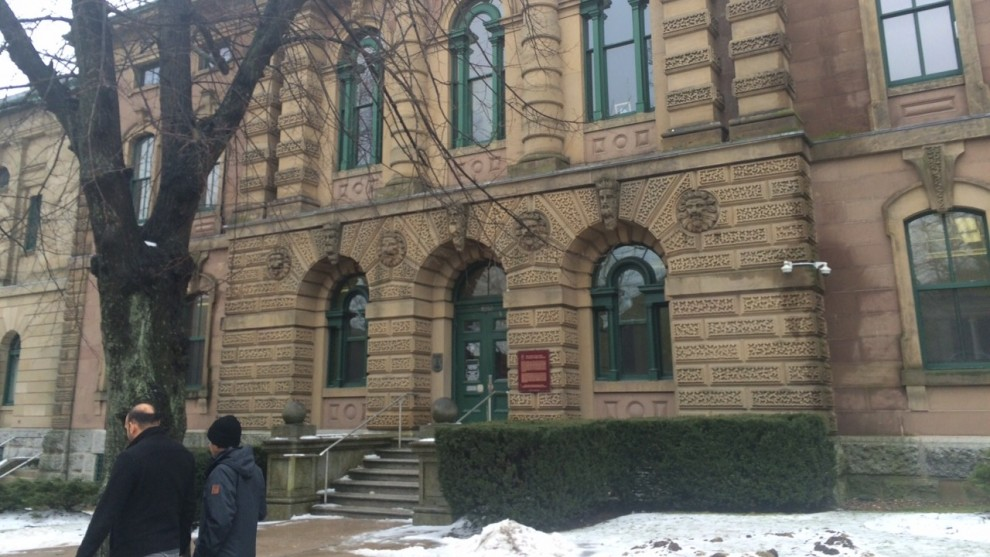 Halifax Provincial Court house located on 5250 Spring Garden Road.